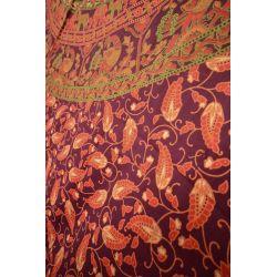 Obrus - makata - wiśniowa karawana