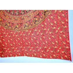Obrus - makata -  czerwona karawana