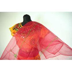 Gopi dress - komplet Bollywood - żółty