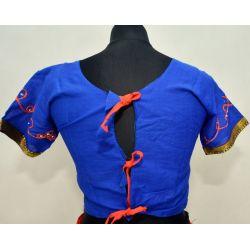Gopi dress - komplet Bollywood - granatowy