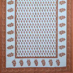 Obrus - makata - rudy zielnik