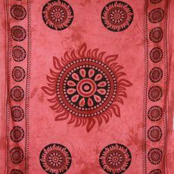 Obrus - makata - czerwona czakra