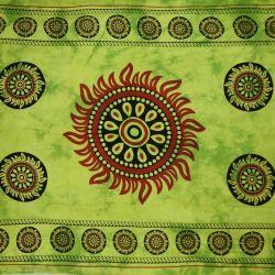 Obrus - makata - zielona czakra