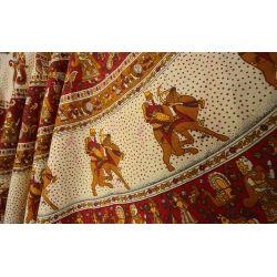 Spódnica z koła - indyjska kopertowa - Rajasthan II