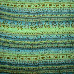 Narzuta - makata ręcznie tkana - błękitna plaża