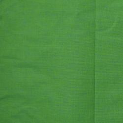 Bawełna ręcznie tkana - zielone prążki
