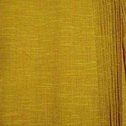 Bawełna ręcznie tkana - żółty