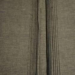Bawełna ręcznie tkana - brązowy melanż