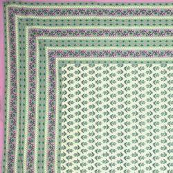 Narzuta bawełniana - wrzosowa łąka