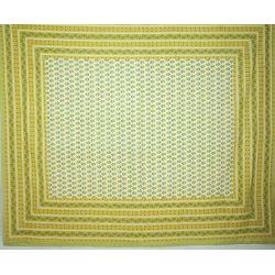 Narzuta bawełniana - zielona łąka