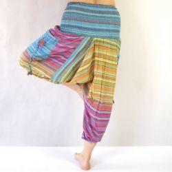 Spodnie bawełniane -...