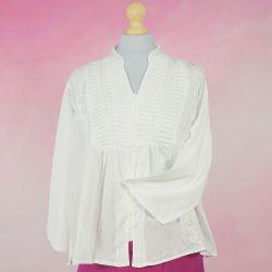 Tunika indyjska bawełniana - krótka - bluzka rozpinana