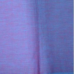 Bawełna ręcznie tkana - lazurowo - cyklamenowy melanż