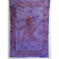 Obrus - makata - zasłona - fioletowy Ganeśa