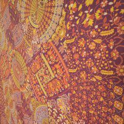 Narzuta bawełniana - kolorowy jarmark - renkloda