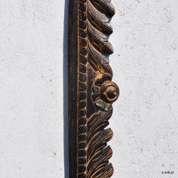 Rama drewniana - ułańskie pióra