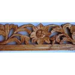 Rama drewniana - dębowy liść - połysk