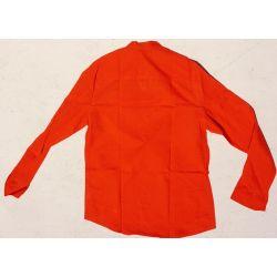 Koszula - pomarańczowa bawełna