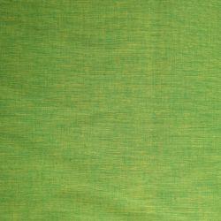 Bawełna ręcznie tkana - trawiasty seledyn