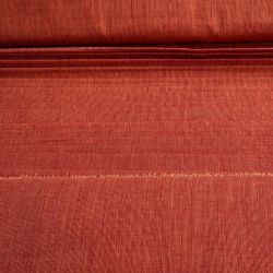 Bawełna ręcznie tkana - cegła