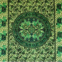 Obrus - mandala z karawaną - granatem
