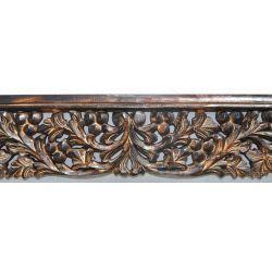 Rama drewniana - klasyczna - brązowa winnica