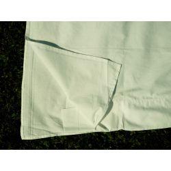 Koszula męska - biała bawełna