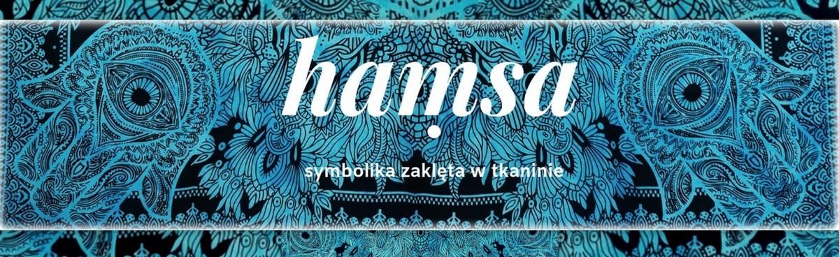 hamsa - symboika zaklęta w tkaninie